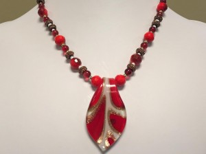 Christmas necklace2