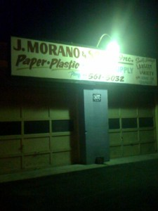J Morano and Sons located on 8th St.