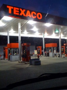 Al and Rich's Texaco on the White Horse Pike displays a    (  ) flag